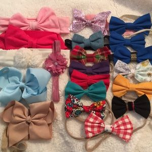 Other - 20 baby girl hair bows 🎀